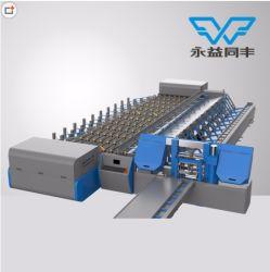 Multifunções a barra de aço máquina de processamento de serragem, threading, perturbar, esmerilhamento