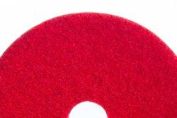 Clase de Nylon Nonwoven Indstrial de silicio de diamantes de la rueda de compensación de limpieza pulido de mármol suelo de granito de cerámica en color rojo, verde, blanco, color negro.