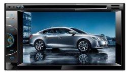 Venda por grosso 2 DIN Universal 6.2 polegadas tela sensível ao toque com navegação GPS veicular Am/Bluetooth/USB