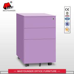 Office Modern Use OEM Metal Moving Storage 3 Drawer (استخدام Office Modern) درج ملون مجلس قاعدة الملفات المتنقلة