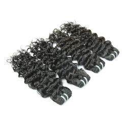 Virgem a granel de cabelo Remy indiano cabelos lisos Tecelagem de seda