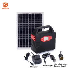 100W het draagbare ZonneSysteem van de Generator voor het OpenluchtGebruik van het Huis