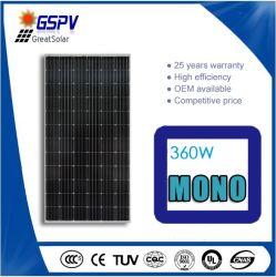 72 ячейки 360W Monocrystalline солнечного кремния (GSPV360M)