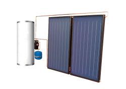 Split pressurizados placa plana Solar aquecedor de água para Villa