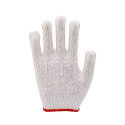 50 grammes 7/10 Étoffes de bonneterie de coton de jauge des gants de sécurité au travail