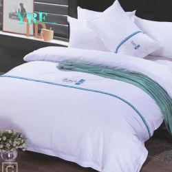 Yrf 100%년 면 침구는 백색 고급 호텔 시트와 베갯잇을 놓는다