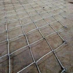 Reticolato attivo personalizzato di Rockfall della rete della maglia della corda di spirale del ragno del sistema di protezione del pendio