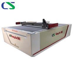 CNC van de hoge snelheid het Automatische Leer /Rubber van het Mes van de Trilling/de Echte Huid /PU die van het Leer van /PVC /Shoe/Footwear /Natural van het Karton Makend Machine snijden