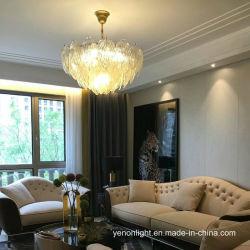Lampen van de Tegenhanger van het Hotel van de Luxe van de Tegenhanger van het Kristal van het Glas van Murano van de glans de Lichte