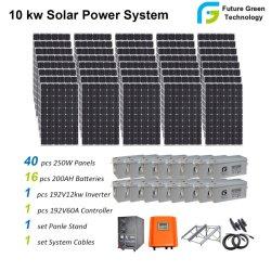Wijd het Systeem van de ZonneMacht van de Generator van de Vernieuwbare Energie van het Huis van het Gebruik 10kw