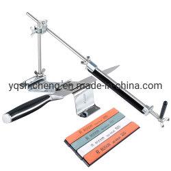 角度によって修復される台所シェフのナイフは工具セットを削る刃を切る