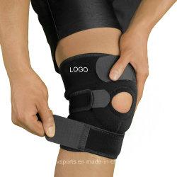 De Stabilisator van de open-knieschijf met de Regelbare het Vastbinden Steun van de Knie van het Neopreen