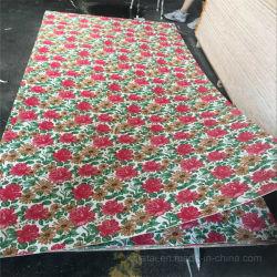 2,5 мм фанеры с покрытием из полиэфирного волокна цветов для украшения