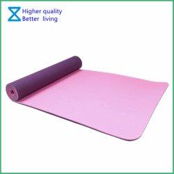 De Milieuvriendelijke RubberMat van uitstekende kwaliteit van de Yoga TPE/NBR/EVA/Natural met Aangepaste Grootte