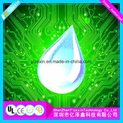 Cola epoxi de cristal de alta calidad utilizados como etiqueta de joyería