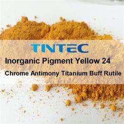 Pigment jaune inorganiques 24 pour le plastique (K2401)