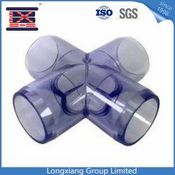 Пластиковый ПВХ большой фитинг колена/Изгиб формы ЭБУ системы впрыска