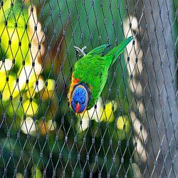 Alambre de acero inoxidable flexible cuerda red de malla malla pajarera Zoo Precio de la jaula de animales