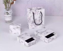 Envase de diseño personalizado de lujo el perfume de regalo personalizado Diseño de caja de cartón Perfume Violeta saque el cajón del papel de verificación de la Fragancia