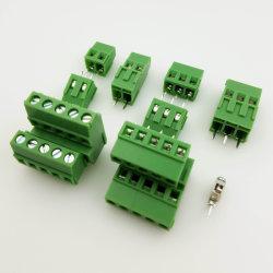 Pitch-5.083,5 mm mmfixer la vis de blocs de jonction de PCB double couche