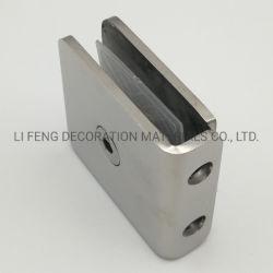 SUS304 0° fijo de cristal Clip/Ducha conjunta de la esquina de la partición de la puerta