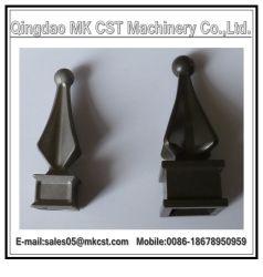Soem geworfene dekorative Aluminiumlegierung-Zubehör mit der Energie gesprüht