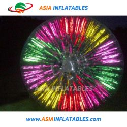 Haste de capim Inflatabel Zorb Ball, Shinning Zorb Ball para adultos