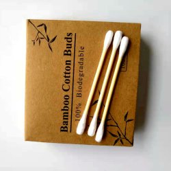 Null Bambusbaumwollputzlappen Instock des Plastik100pcs