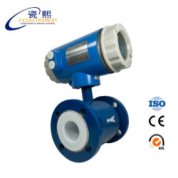 Digital de la serie DH1000 Medidor de flujo de agua electromagnéticos con señal RS485.