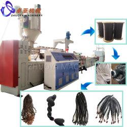 PET/PP 합성 인공 모발 필라멘트 섬유 제작 기계