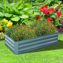 Jardim metálicas quadradas Planta de decoração Flower Pot