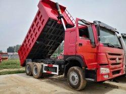 エンジン336 HPが付いているよい状態のHOWOによって使用されるダンプトラック