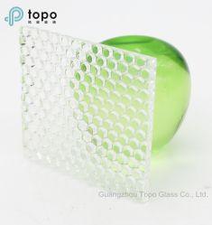 glas van de Vlotter van 3mm8mm het Super Duidelijke Patroon Voorgestelde voor Deuren (ucp-TP)