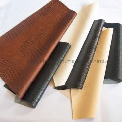 Modèle en cuir artificiel de PVC étanche Sac en cuir des chaussures en cuir dur