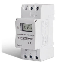 12V DC AC Tiempo Digital de Iluminación LED Interruptor con 7 días de función programable y 1n+1 Interruptor nc relé de tiempo