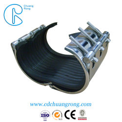 Система выпуска отработавших газов пластмассовых трубопроводов хомуты