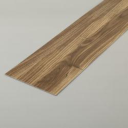 Étanche du grain du bois Coeur rigide en plastique imperméable de carreaux en vinyle de luxe fournisseur chinois de 5mm plancher Spc anti-patinage