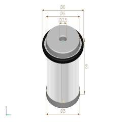 Patroon van het Element van de Hydraulische Filter van de Filtratie van de Delen van de Producten/van de Leveranciers van China de Auto Industriële Mechanische/van de Filter van de Lucht/van de Filter van de Lucht/de Filter van het Water/de Filter van de Olie