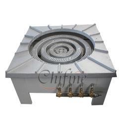 Высшее качество CF740 СИСТЕМА ПИТАНИЯ СЖИЖЕННЫМ ГАЗОМ Industial коммерческих газовая горелка для приготовления пищи плита стальные чугунные плита