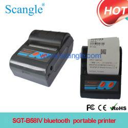 Bluetooth Sgt-B58IV를 가진 휴대용 열 영수증 인쇄 기계