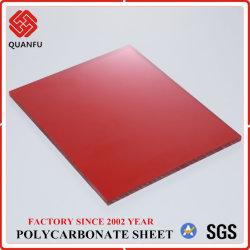 Résistance aux UV de haute qualité Feuille de polycarbonate solide panneau de toiture