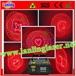 200MW Red Kaleidoscope 3D Ilda Animation Laser Light