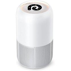 ベストポータブル UV イオナイザオゾンジェネレータ HEPA フィルターホームルーム 空気洗剤の煙塵のための清浄器は Allergies 空気清浄器を清浄する