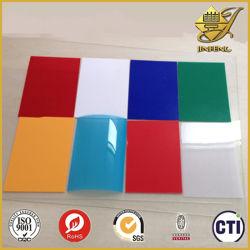 Het kleurrijke en Transparante Plastic Blad van pvc voor het Binden van Dekking