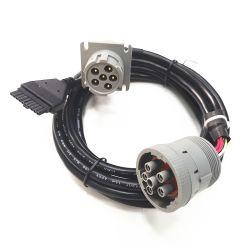 UL Deutsch Cable conector SAE J1939 9 pin Cable abierto J1939 9pin 10pies de longitud con Whma / IPC 620 & IATF16949 Fabricante