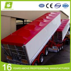 Coperchio del camion della tela incatramata del PVC ricoperto vinile impermeabile della radura del tessuto