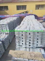 Spéciale de haut grade de lingots de zinc de 99,99 % de zinc prix du lingot