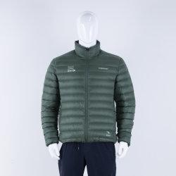 Prova de vento piscina impermeável leve casaco de inverno acolchoado de moda de capuz Casual jaqueta para baixo