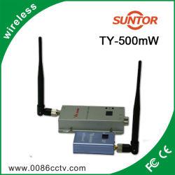 Mini 1,2GHZ 500MW analogiques sans fil émetteur et récepteur AV