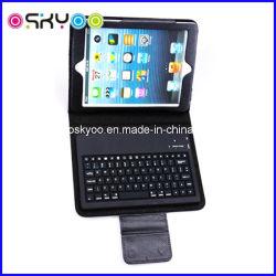 iPadの小型革ケースのためのBluetooth無線キーボード